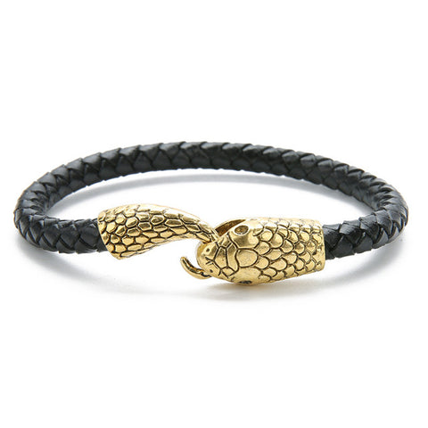 Snake bracelet - Boa Head - The Vipers House