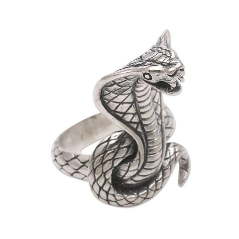 Snake Ring Iron Cobra