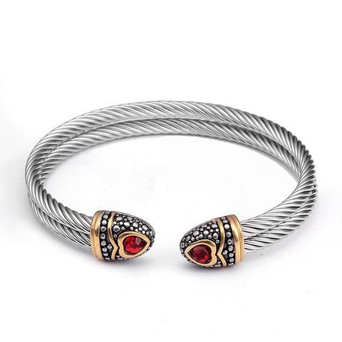Snake bracelet - Silver Ouroboros - The Vipers House