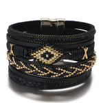 Snake bracelet - Serpent Skin (Leather) - The Vipers House