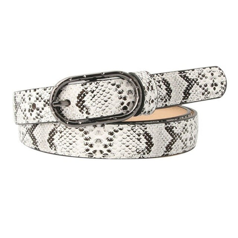 Snake Belt <br> Buckle Women Style - The Vipers House