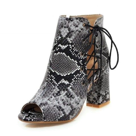 Snake Shoes <br> Print Boa Women - The Vipers House