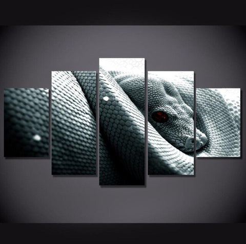 Snake Painting <br> Evil Eye - The Vipers House