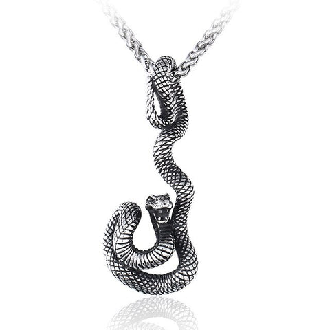 Snake Necklace - Boa - The Vipers House