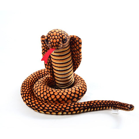 Giant Snake Stuffed Animal <br> Brown Cobra - The Vipers House