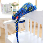 Giant Snake Stuffed animal <br> Blue Boa - The Vipers House