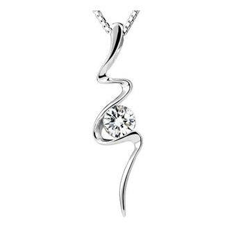 Snake Necklace - Vitorian Viper (Silver) - The Vipers House