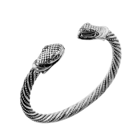 Snake bracelet - Venoumous Boa (steel) - The Vipers House