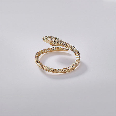 Snake Ring <br> Eye Engagement (SILVER)
