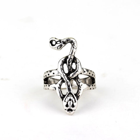 Slytherin Snake Ring (steel)