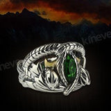 Snake Ring <br> Lord of Man (silver)