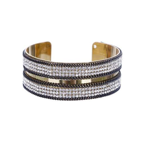 Snake Bracelet - Strass Viper - The Vipers House