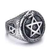 Snake Ring Star Of David