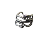 Snake Ring <br> Retro (steel)