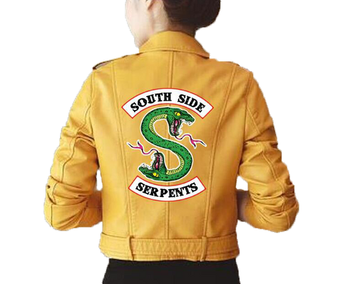 Snake Jacket <br> South Side Serpent Yellow - The Vipers House