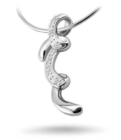 Snake Necklace - Silver Charm (Sliver) - The Vipers House