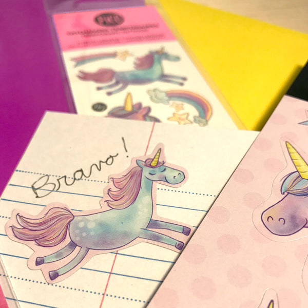 PiCO Tatoo, unicorns stickers.