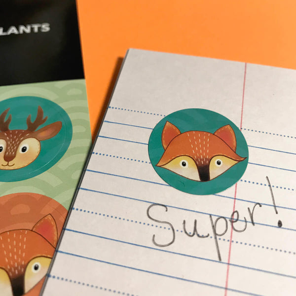 PiCO Tatoo, forest animals stickers.