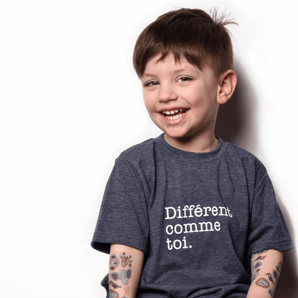 PiCO Tatoo- La fondation Véro et Louis/ Autism temporary tattoos