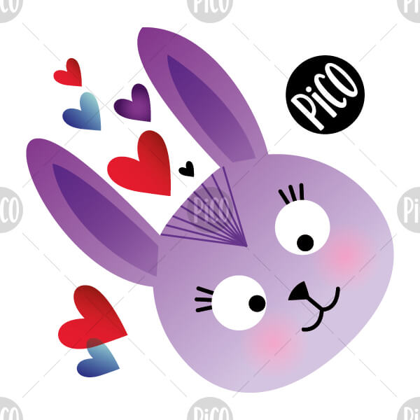 lapins paques tatouages temporaires PiCO temporary tattoos easter bunny