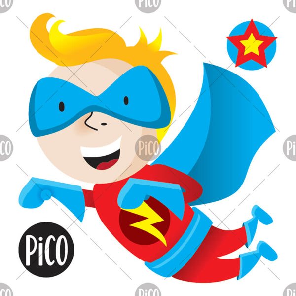 PiCO Tatoo, bulk temporary tattoos, superhero.