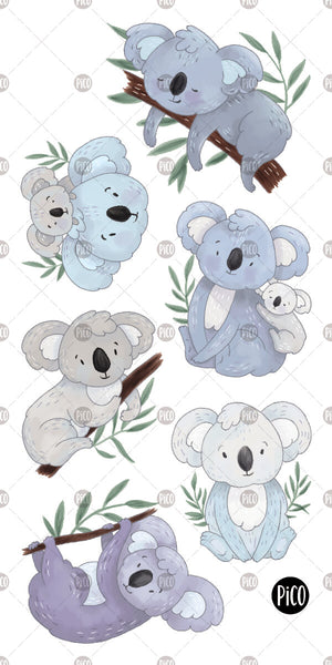 PiCO Tatoo, temporary tattoos/ Lorik the koala
