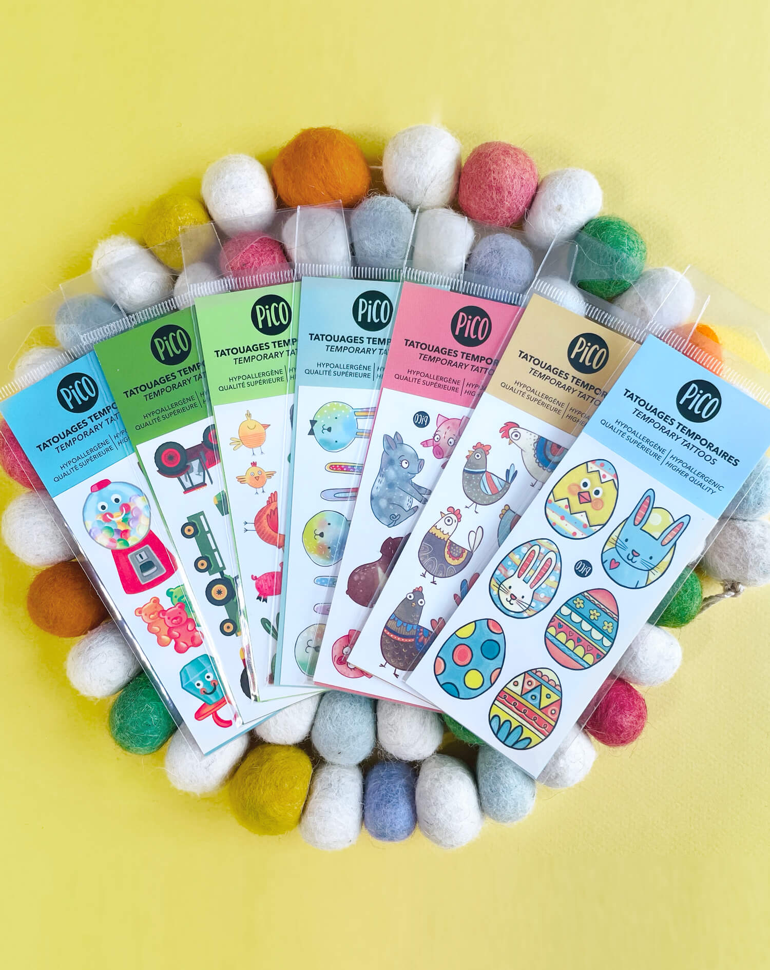 tatouages halloween promo rabais temporary tattoos
