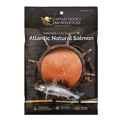 Cold Smoked Atlantic Salmon Natural 100G