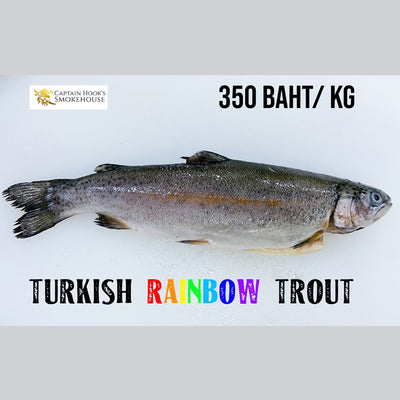 Raw Turkish Rainbow Trout