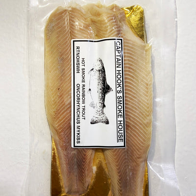 Hot Smoked Turkish Rainbow Trout Fillet (2 fillets pack)