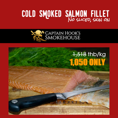 Promotion - Cold Smoked Atlantic Salmon Fillet - Skin ON