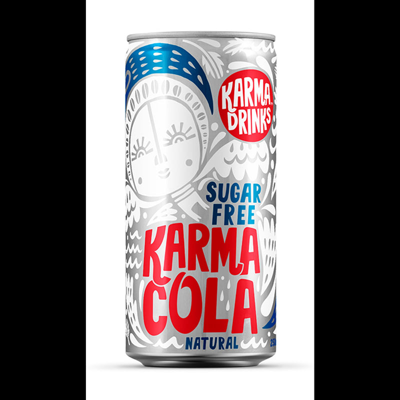 Karma Drinks Cola Karma Sockerfri
