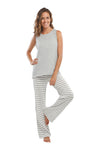 The Striped Cabana Pants & Tank