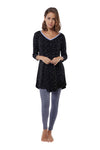 The Day Dream Tunic in Black