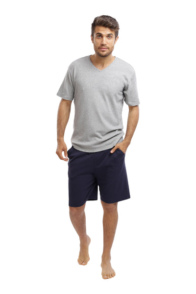 The Men's Weekender Shorts in Navy & Heather Grey
