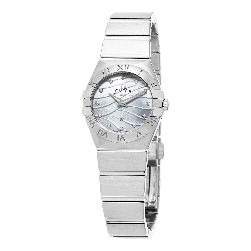 Omega Women's Constellation Mother of Pearl Diamond Dial Watch