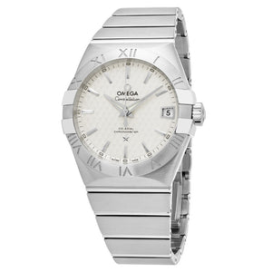 Omega Men's Constellation Silver Dial Swiss Automatic Watch
