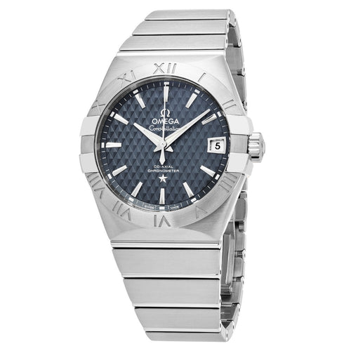 Omega Men's Constellation Blue Dial Swiss Automatic Watch