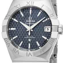 Load image into Gallery viewer, Omega Men's Constellation Blue Dial Swiss Automatic Watch