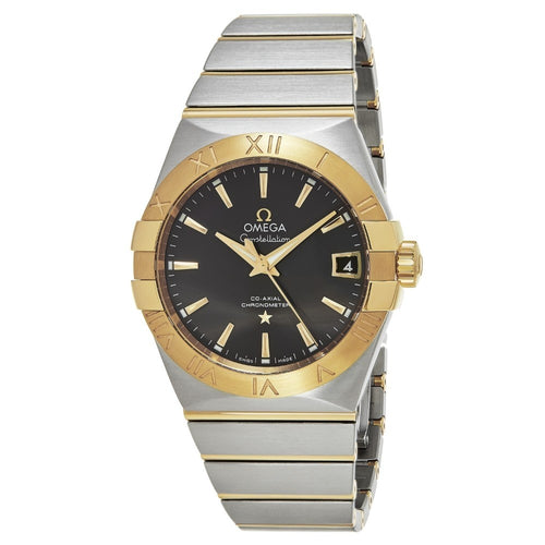 Omega Men's Constellation Stainless Steel/Gold Swiss Automatic Watch