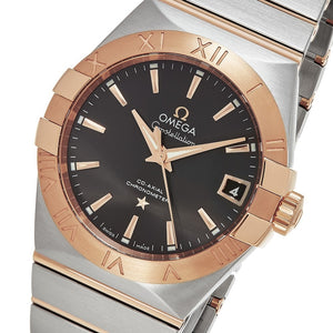 Omega Men's Constellation Stainless Steel/Rose Gold Swiss Automatic Watch