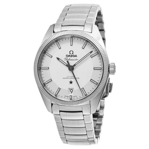 Omega Men's Constellation Globemaster Silver Dial Swiss Automatic Watch