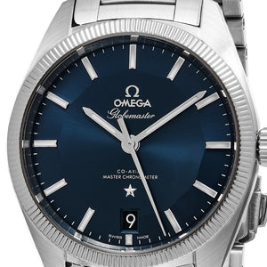 Omega Men's Constellation Globemaster Blue Dial Swiss Automatic Watch