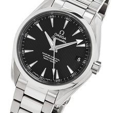 Load image into Gallery viewer, Omega Men's Seamaster AquaTerra 150M Omega Master Co-Axial Black Dial Automatic Watch
