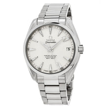 Load image into Gallery viewer, Omega Men's Seamaster AquaTerra 150M Omega Master Silver Dial Automatic Watch