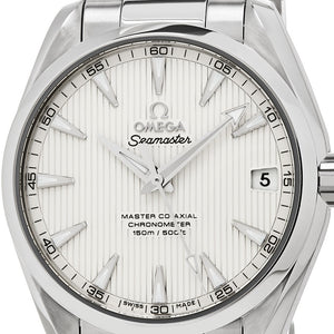 Omega Men's Seamaster AquaTerra 150M Omega Master Silver Dial Automatic Watch
