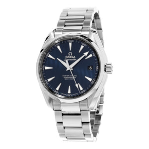 Omega Men's Seamaster AquaTerra 150M Omega Master Blue Dial Automatic Watch