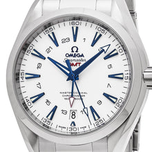 Load image into Gallery viewer, Omega Men's Seamaster AquaTerra 150M White Dial GMT Automatic Watch