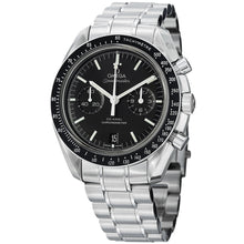 Load image into Gallery viewer, Omega Men's Speedmaster Moonwatch Black Dial Stainless Steel Watch