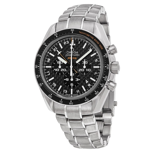 Omega Men's Speedmaster HB-SIA Solar GMT Chronograph Titanium Watch